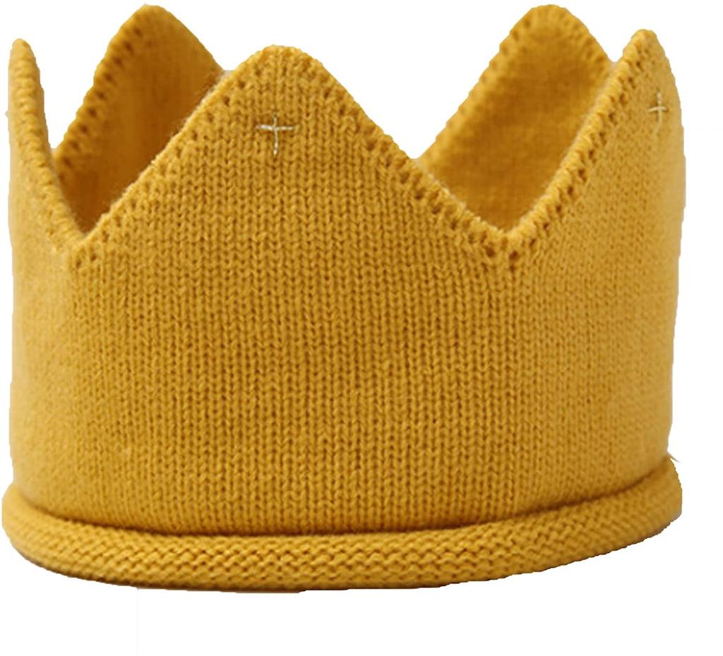 (POMAIKAI) ベビー 王冠 クラウン ニット帽
