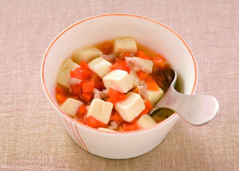 豚ひき肉と豆腐のとろみ煮